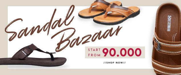 Sandal bazaar start from 90k