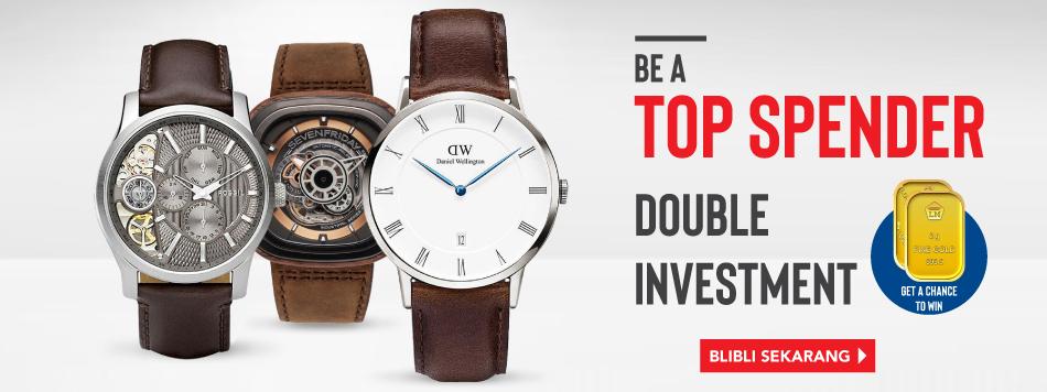 Top Spender Watch Win Gold