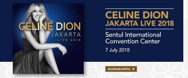 Tiket Celine Dion