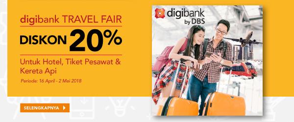 digibank travel fair diskon 20%