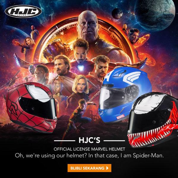 HJC Helmet MARVEL Edition