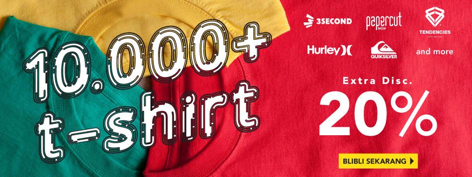 T-Shirt Extra 20%