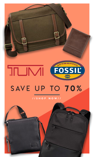 Tumi & Fossil Bags