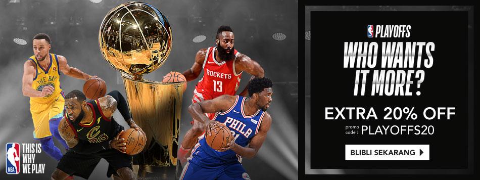 PLAYOFFS NBA DISC 20%