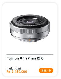 FUJINON XF 27mm f2.8