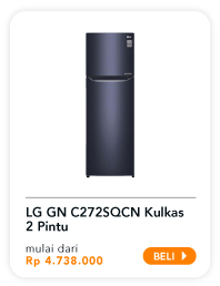 LG GN C272SQN Kulkas 2 Pintu