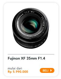 FUJINON XF 35mm F1.4