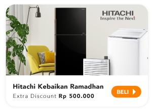 Hitachi extra disc Rp500.000