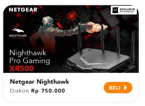 Netgear Nighthawk diskon Rp750.000