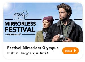 Festival mirrorless olympus diskon hingga 7,4juta