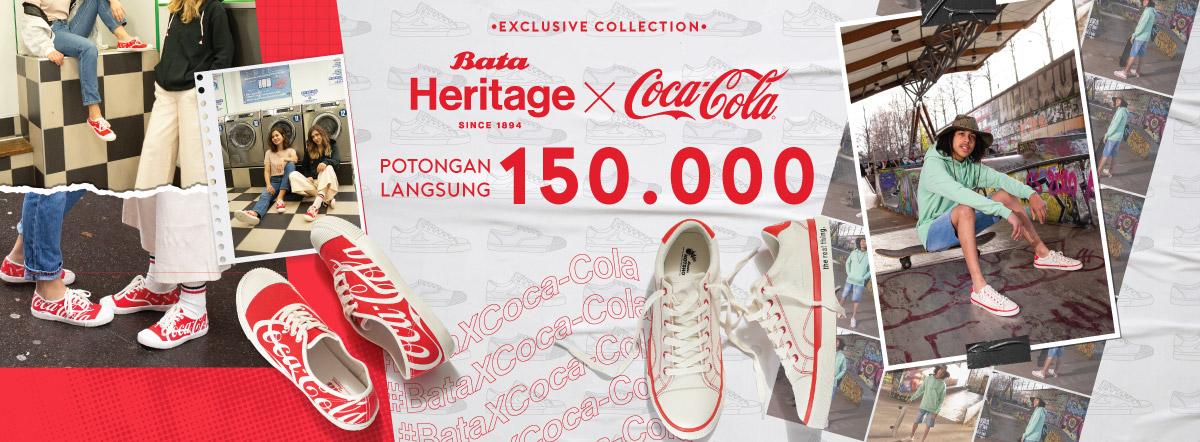 9871dd5886 Promo Sepatu Bata x Coca Cola Potongan 150.000 - Original