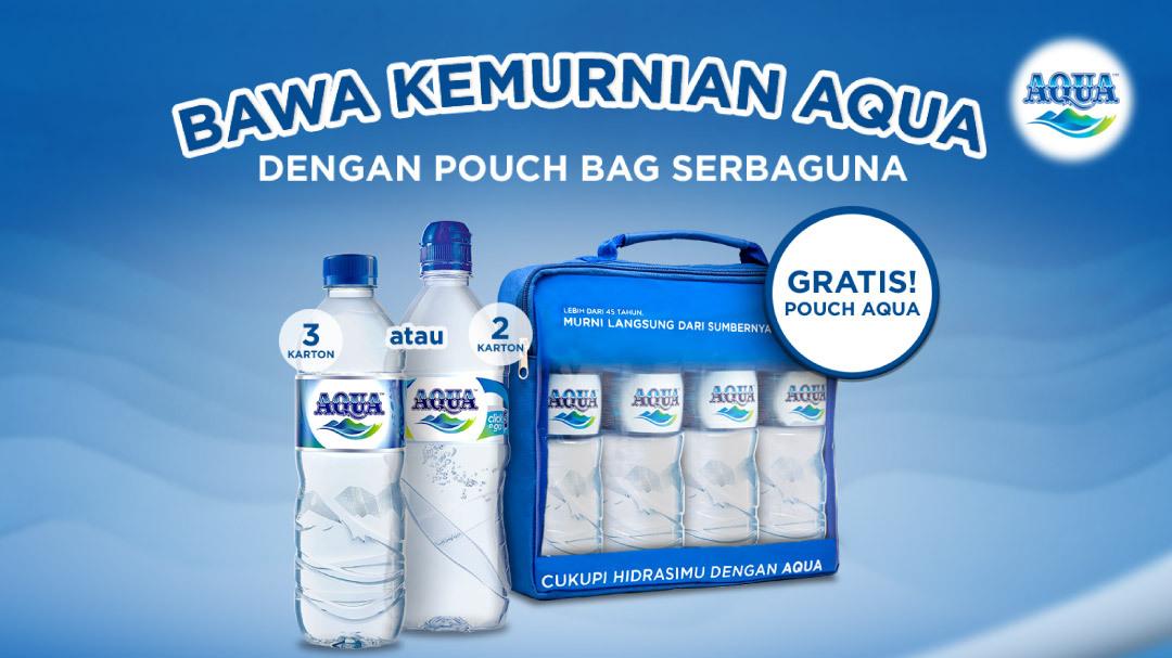 Promo Aqua Free Pouch