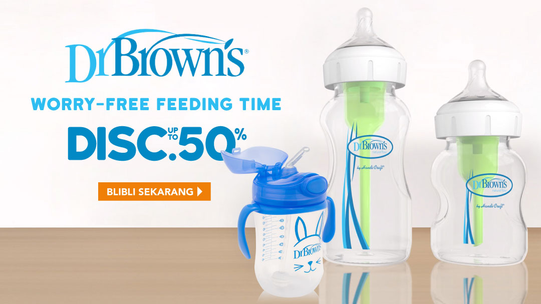 Dr. Brown's Disc. up to 50 %