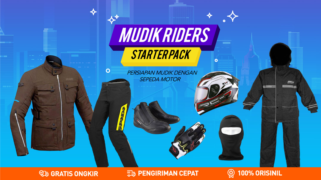 Starter Pack Riding Muding Start From Rp.16.000
