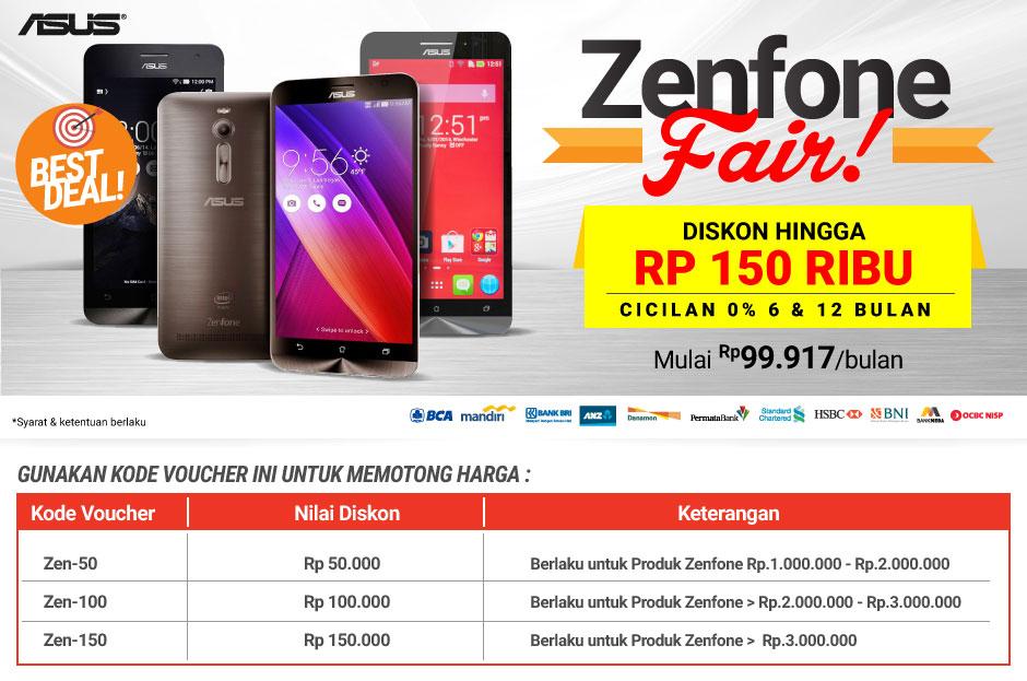 Promo Asus Zenfone 4 5 6