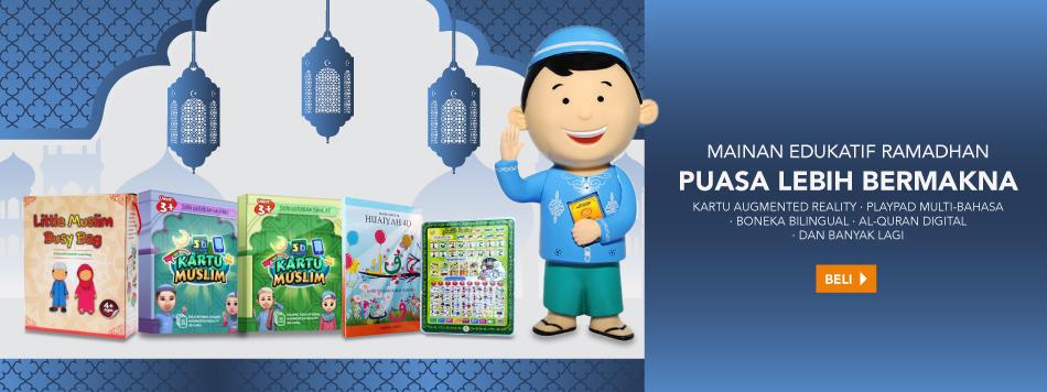 Mainan Edukatif Ramadhan