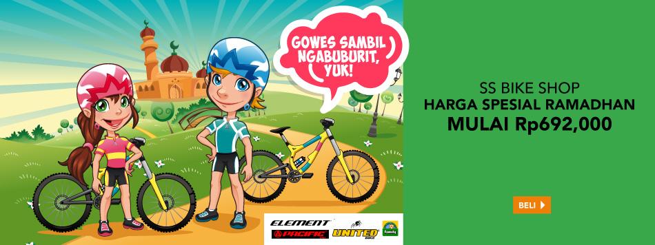 Sepeda Harga Spesial Ramadhan