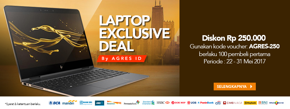 Laptop Exclusive Deal by Agres.id