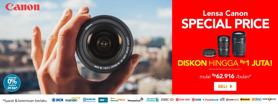 Canon Lensa Special Price