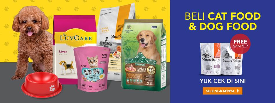 Cat & Dog Food Free Sample