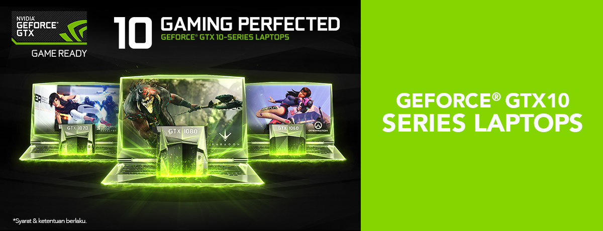 Geforce GTX10 Laptop Series