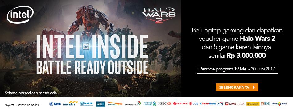 Intel Gaming Free Halo Wars 2