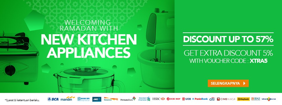 Welcoming Ramadhan with New Kitchen Appliances