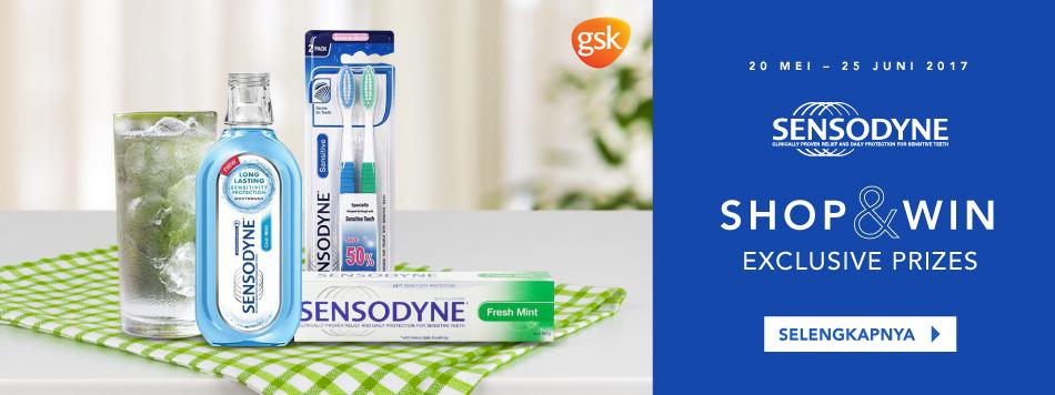 Sensodyne Shop & Win