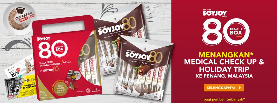 Soyjoy 80 Healthy Fit
