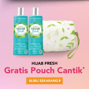 Hijab Fresh Gratis Pouch Cantik