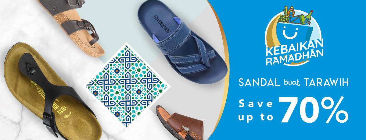 Sandal for tarawih