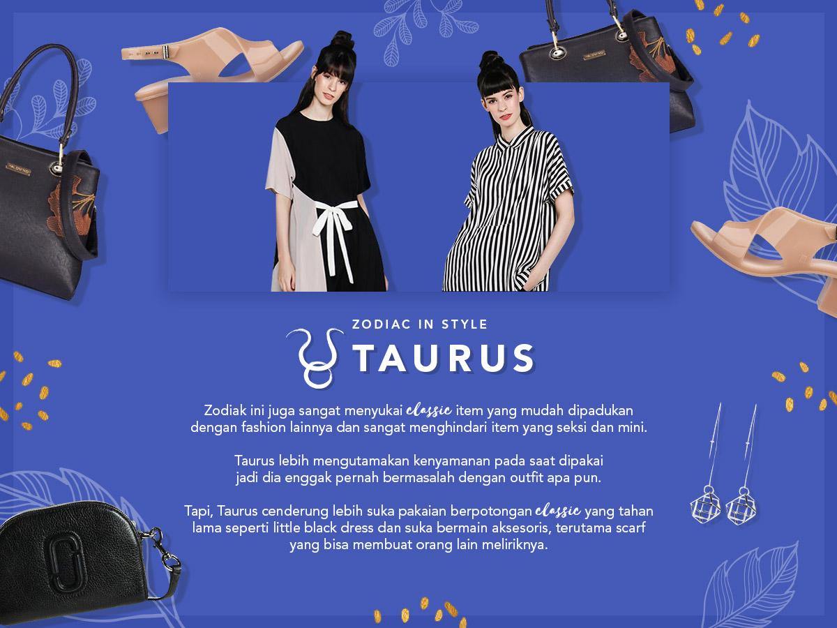 Zodiac In Style - Taurus
