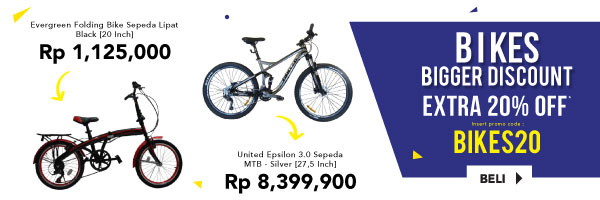 BIKES Bigger Disc extra 20% off