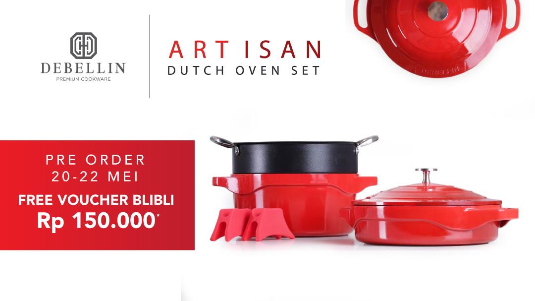 Debellin Artisan Dutch Oven Set