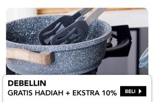 DEBELLIN Gratis hadiah + Ekstra 10%