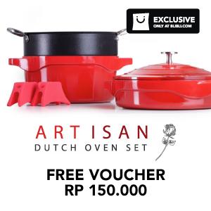 ARTISAN Free voucher Rp150.000