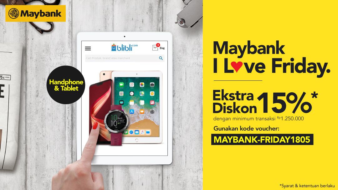Maybank I Love Friday 2018