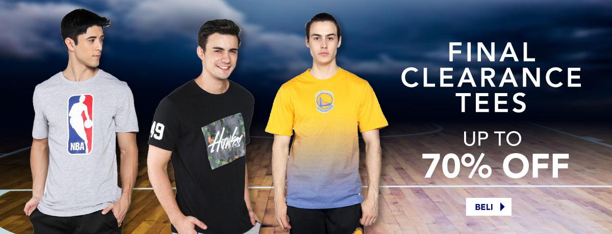 Clearance NBA Tees