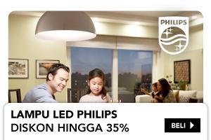 LAMPU LED PHILIPS Diskon hingga 35%