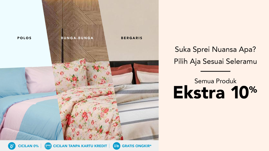 Bed Sheet Extra 10%