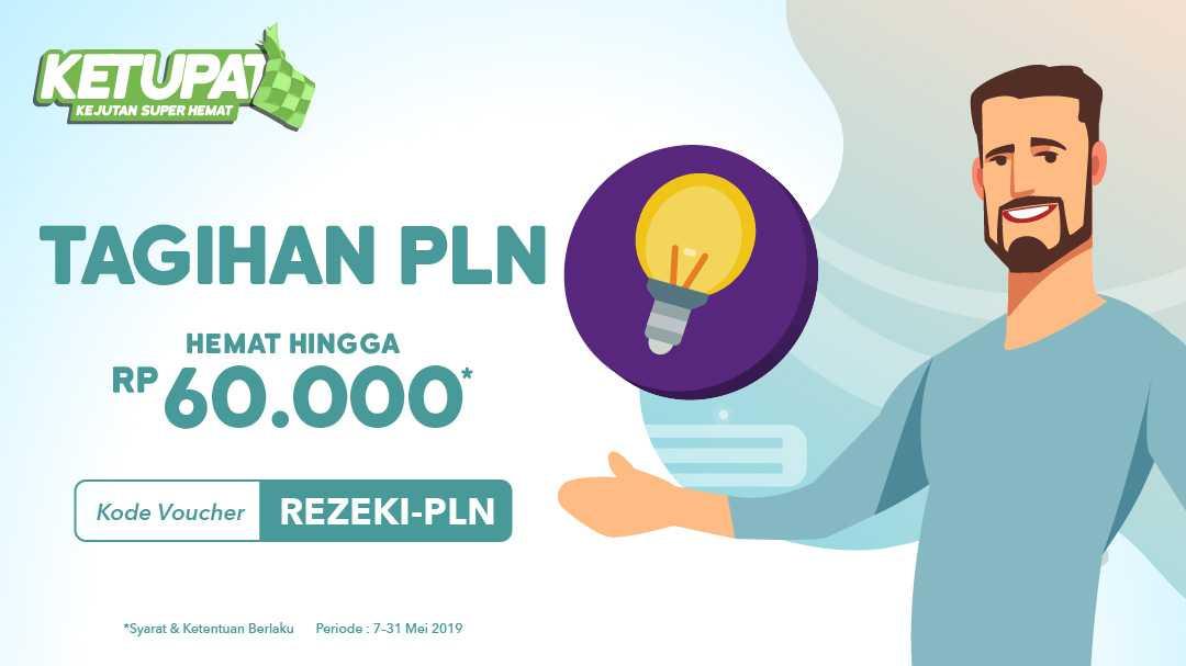 Bayar Tagihan Listrik Lebih Hemat Hingga Rp 60.000,-