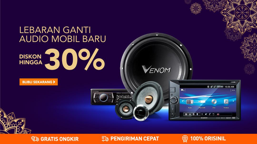 273c650f41 Audio Mobil lebaran disc hingga 30%