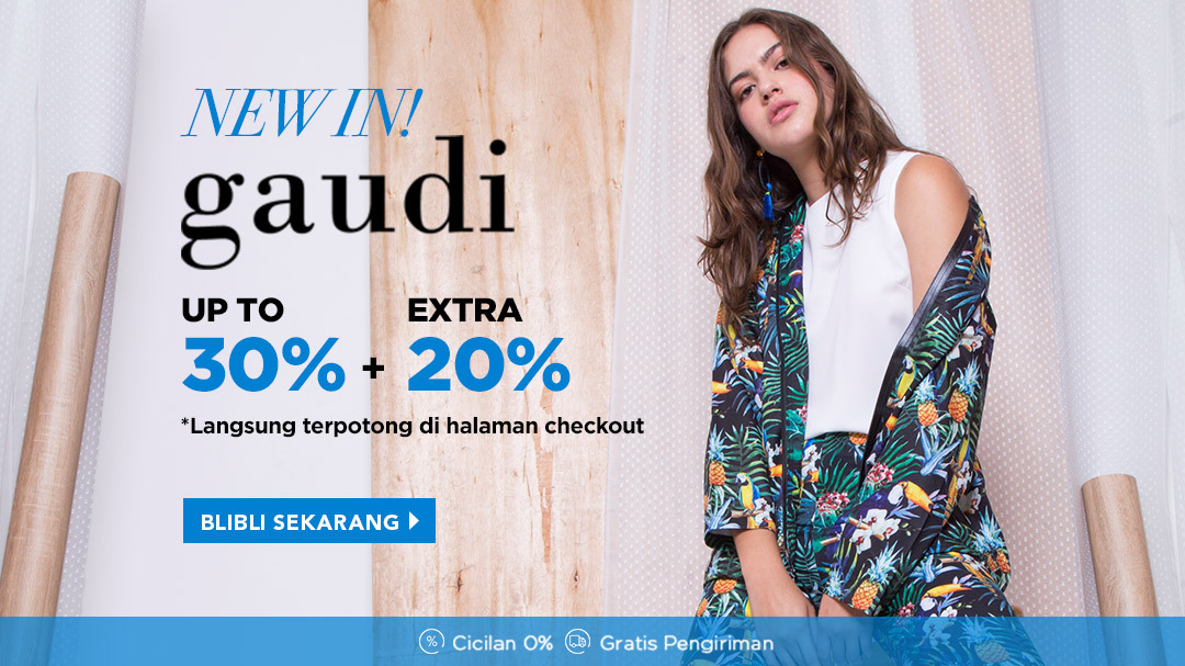 Gaudi 20% All Item + Extra 20%