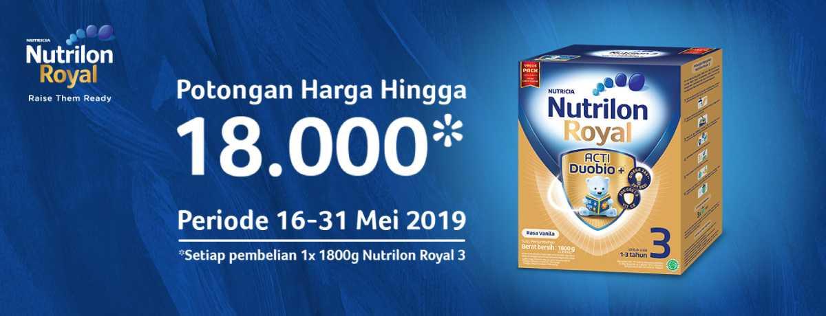 Nutrilon Potongan Harga Hingga Rp18.000