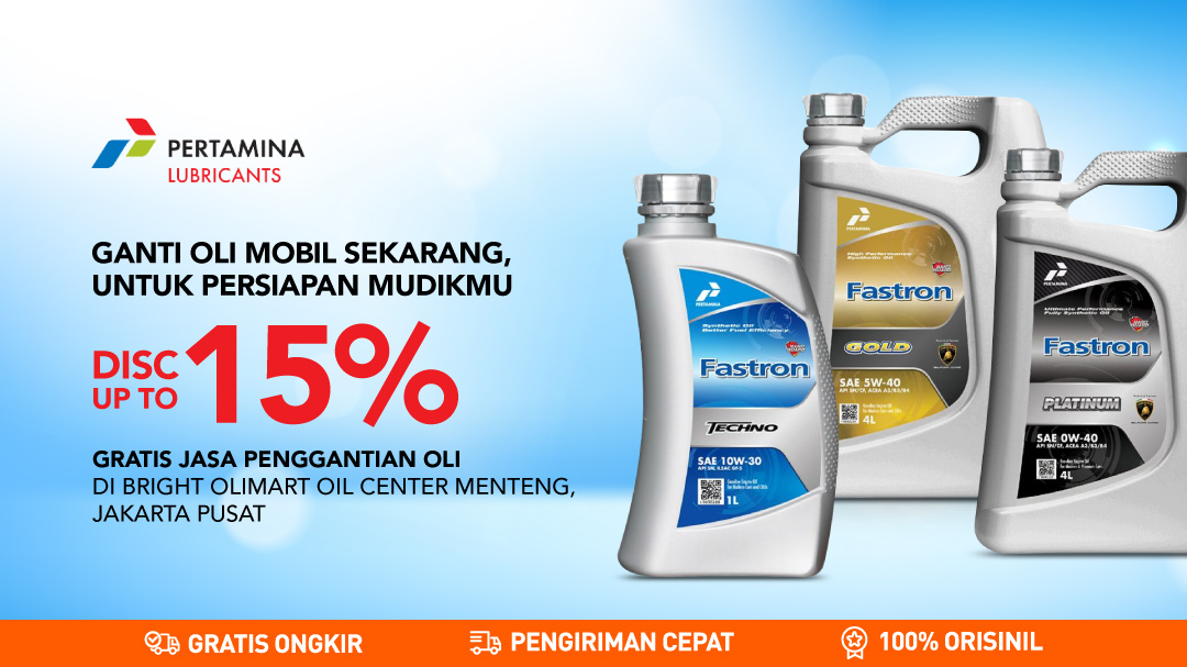 Pertamina Lubricants Disc up to 15%