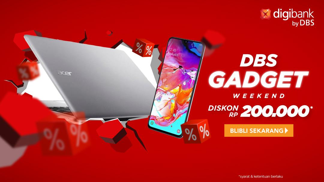 DBS Weekend Gadget Deal