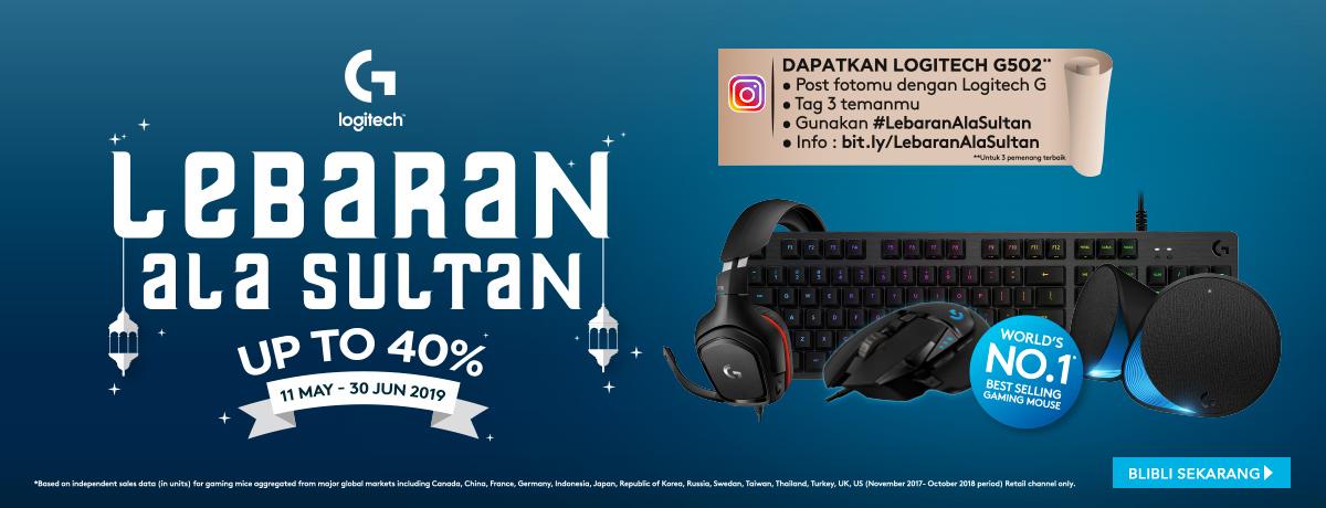 Logitech Lebaran Ala Sultan