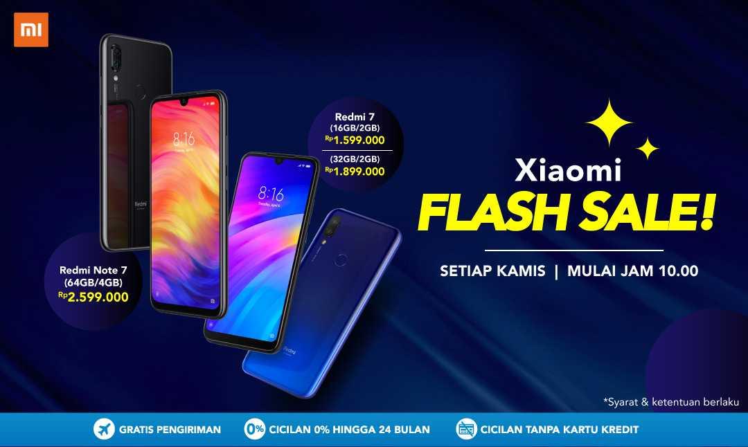 Xiaomi Flash Sale Redmi Note 7 & Redmi 7