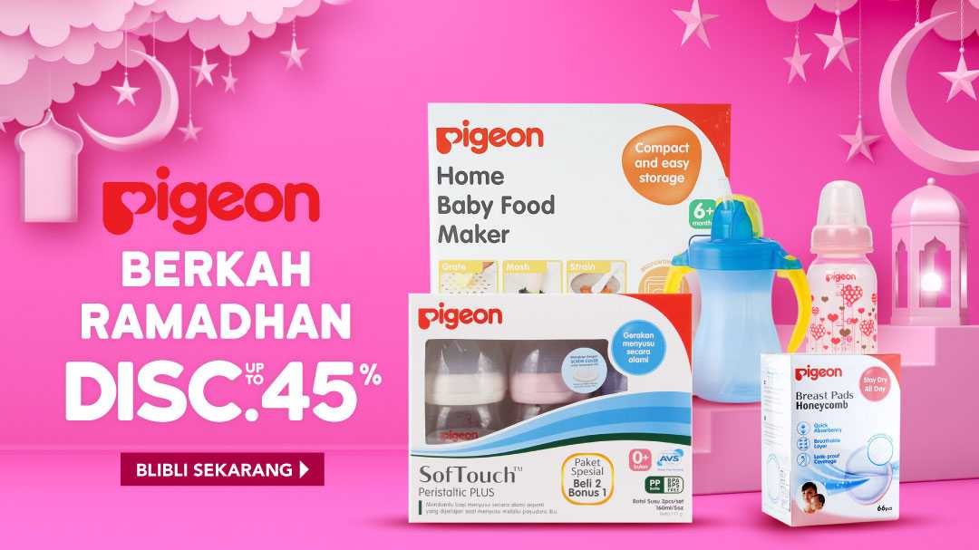 Berkah Ramadhan Pigeon, Disc. up to 45%