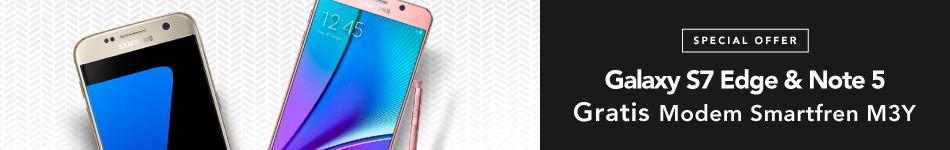 Samsung S7 Edge & Note 5 Free Modem
